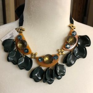 J. Crew Art Deco Statement Necklace